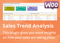 WooCommerce Sales Trend Analysis