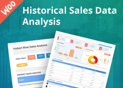 WooCommerce Historical Sales Data Analysis